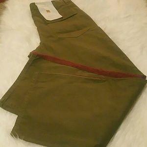 Zara Side Stripe Twill Pants